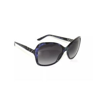 Versace 4271 Sunglasses Marble Black and green